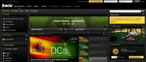 bwin screen